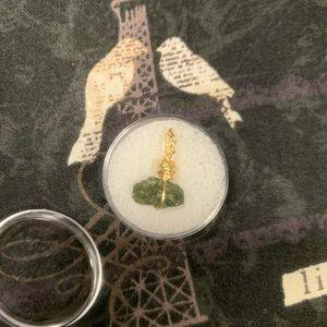 Genuine Moldavite pendant